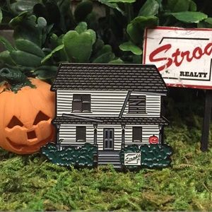 Halloween Michael Myers House Lapel Pin Brooch